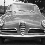 Frontale Alfa Romeo Giulietta Sprint - 1954