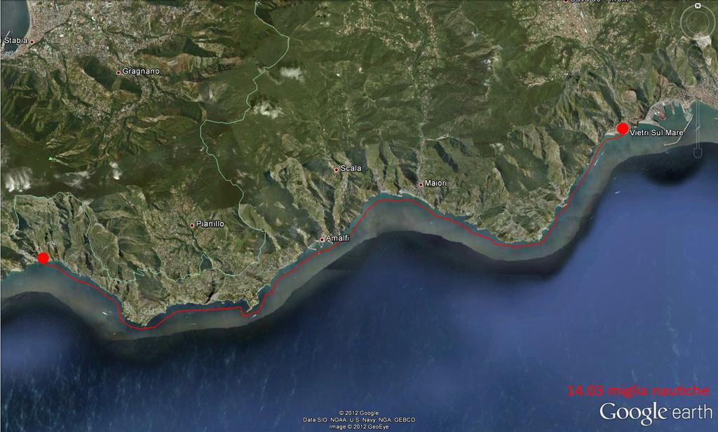 Itinerario Costiera Amalfitana 20/10/2012