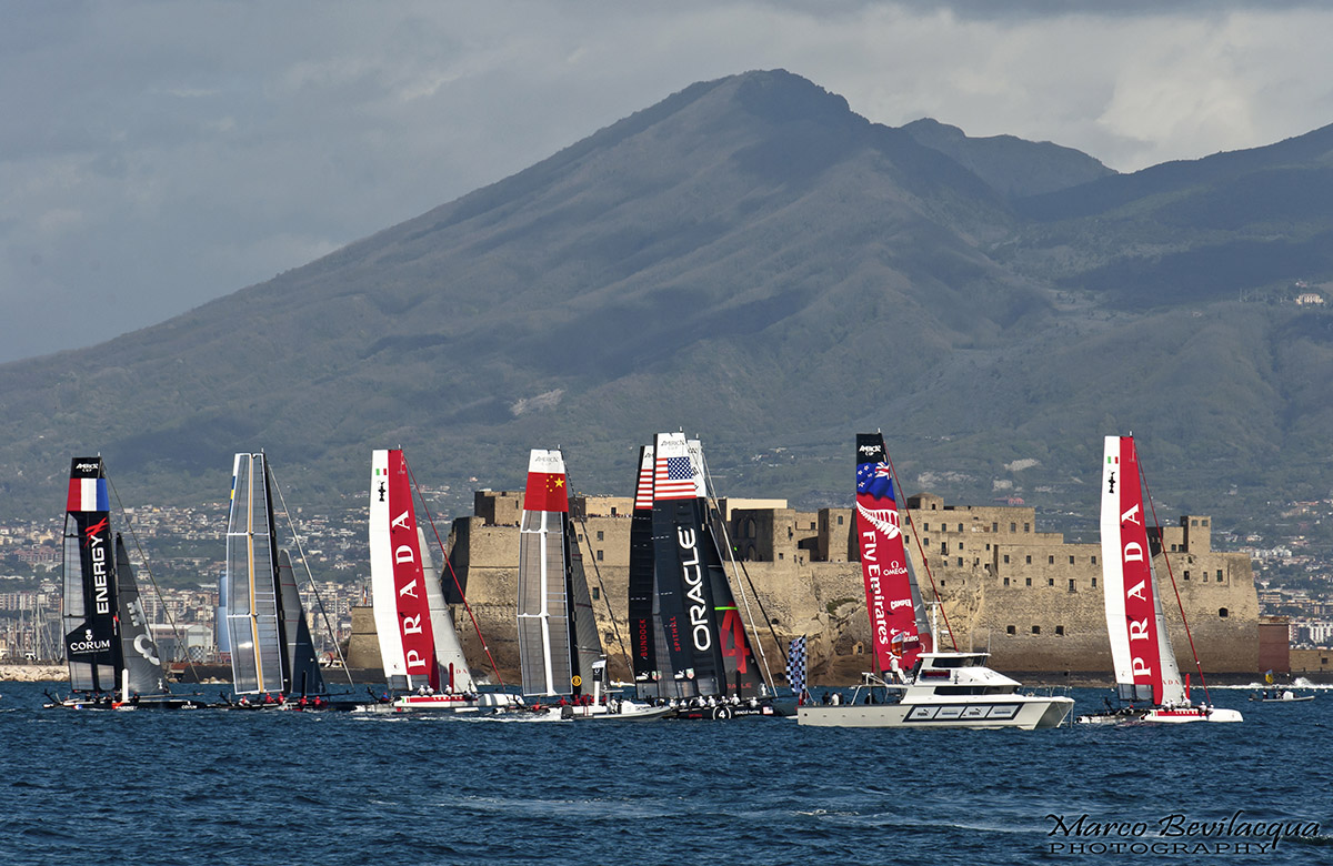 America's Cup Naples 2012 Marco Bevilacqua Photography
