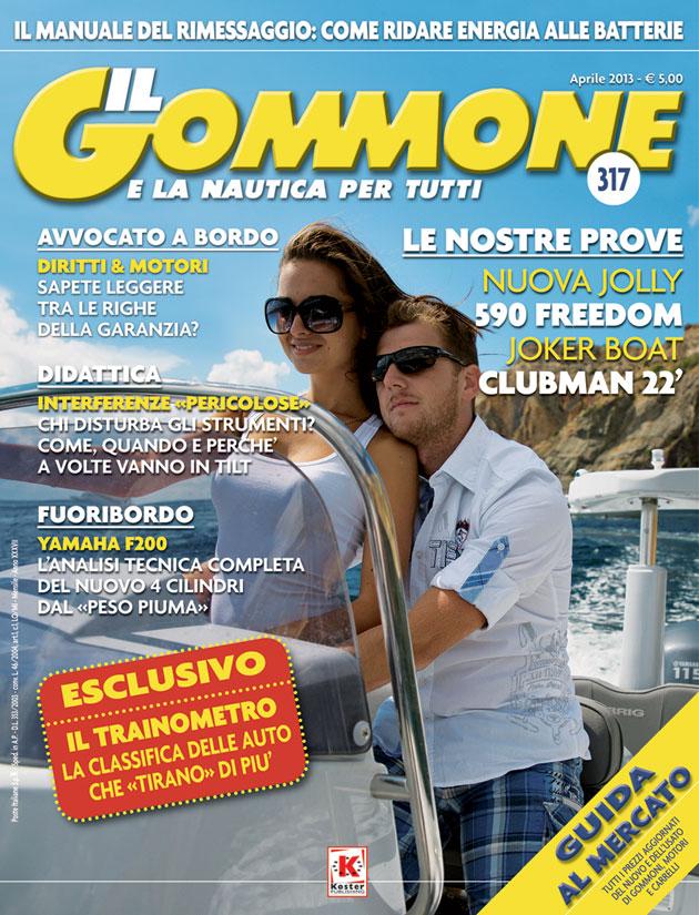Copertina Il Gommone num 317