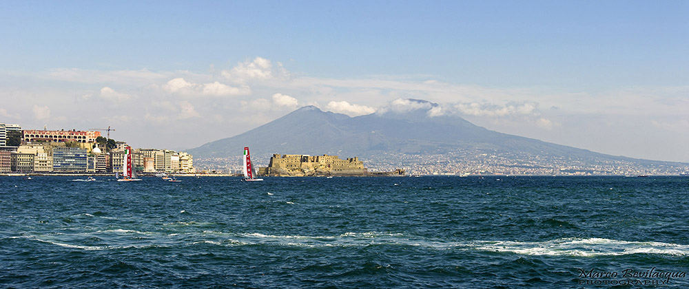 Naples Gulf During America's Cup 2013